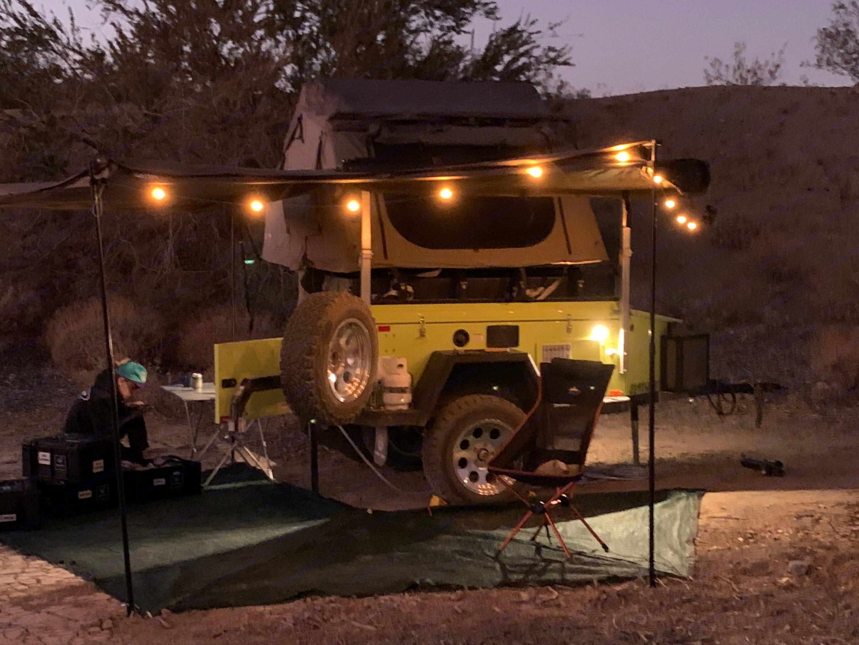 Basic Camp setup. Turtleback Getaway 2019