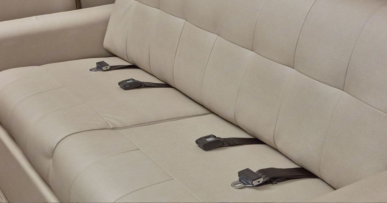 Seatbelts at all seats !. Jayco Greyhawk prestige 30XP 2020