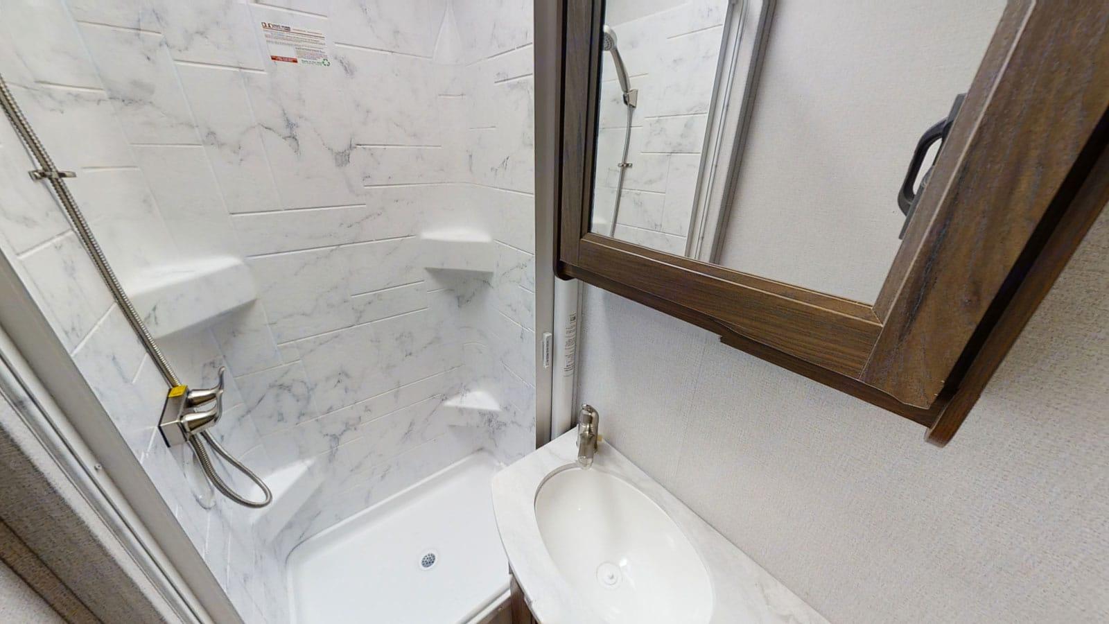 Bathroom. Forest River Sunseeker 2022