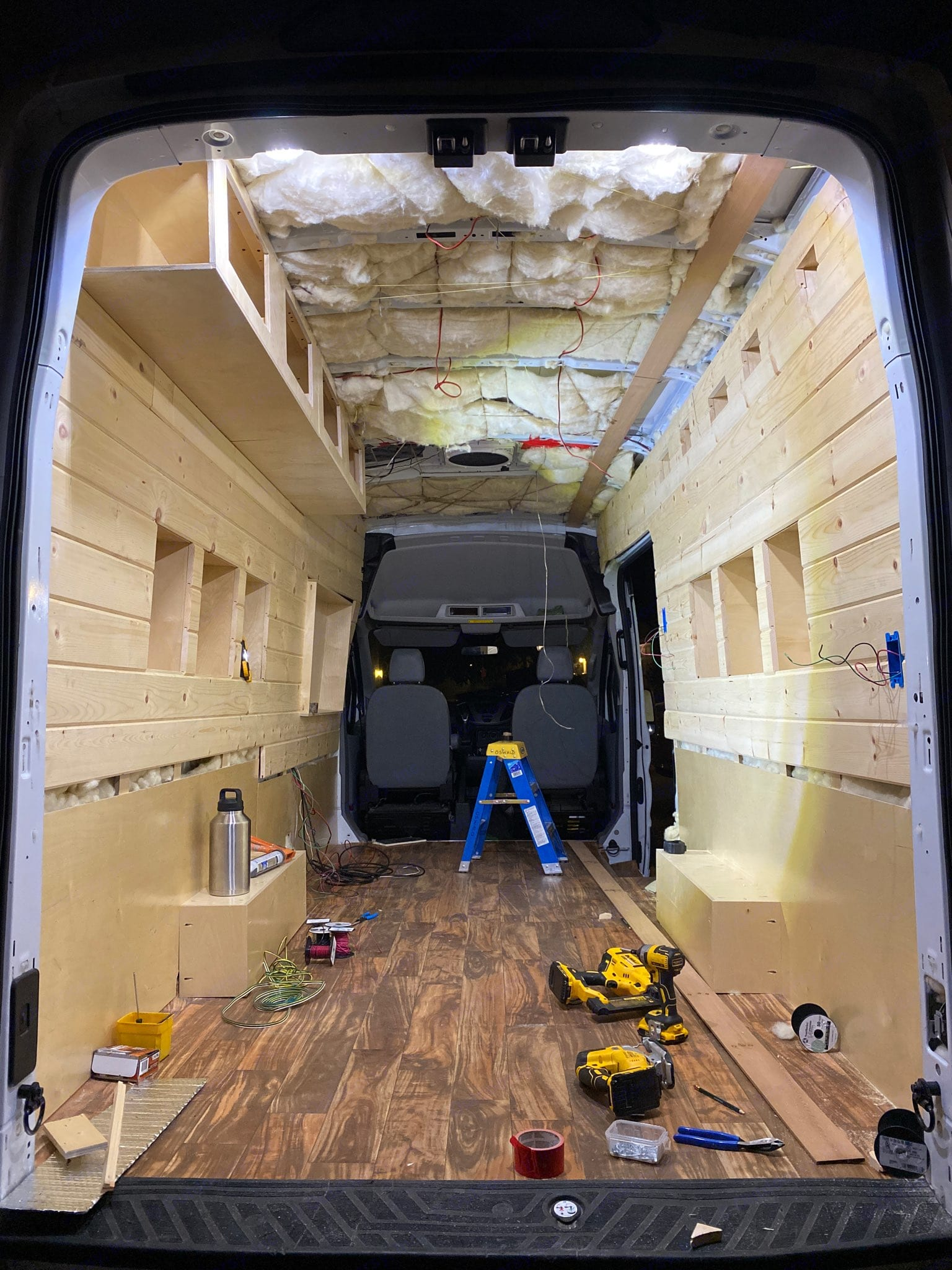 Ford Transit High Roof Extended 2019