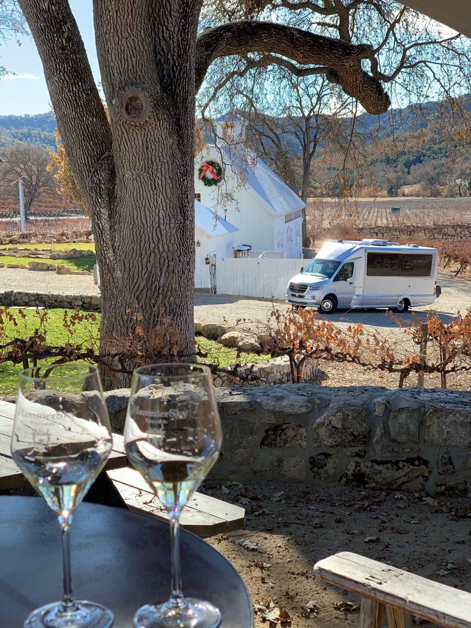 From Napa to Paso Robles California has many wine regions to visit and some allow overnight stays. check out HarvestHost. Airstream Atlas 2021