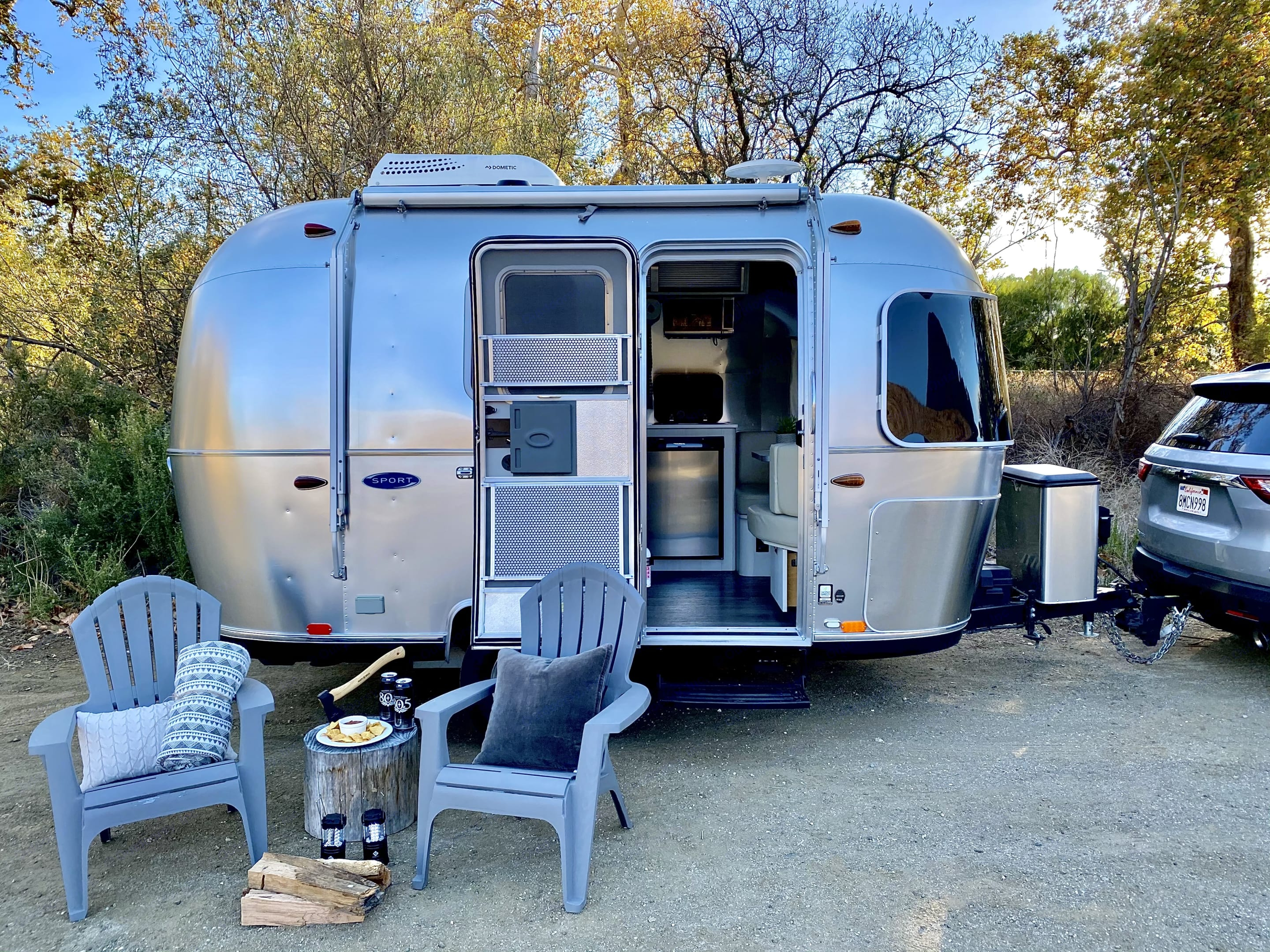 Simple and yet the Airstream Bambi offers you everthing you need. . Airstream Sport 2018
