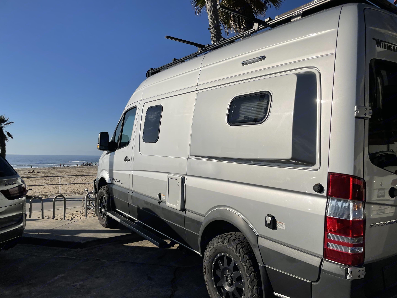 Visiting Manhattan Beach.. Winnebago Revel 2018