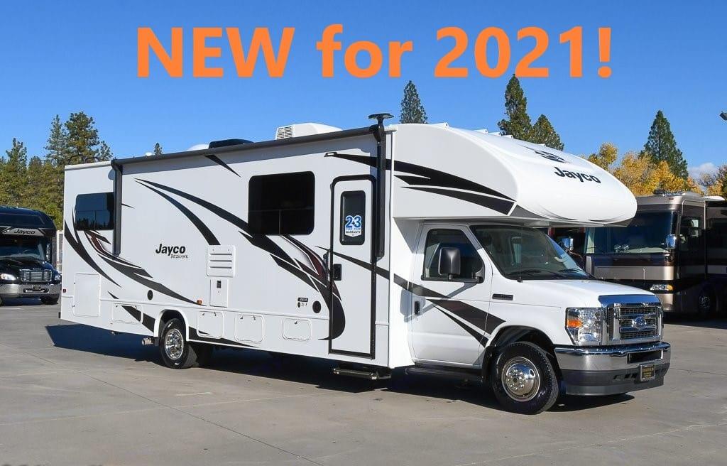 Brand New for 2021!  Jayco Redhawk 31F - new V8 power. Jayco Redhawk 2021