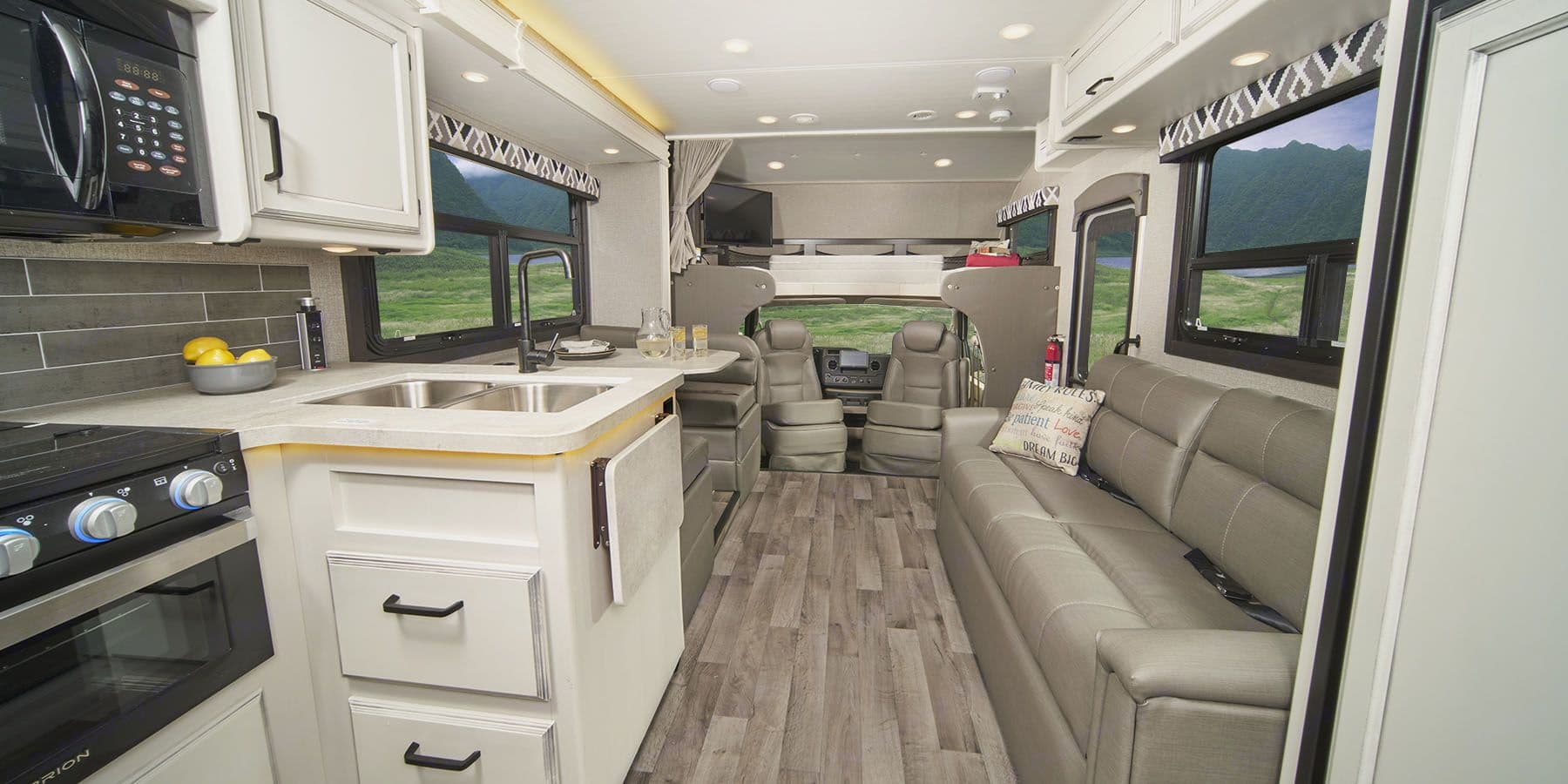 Another shot of the roomy interior. Jayco Redhawk 2021