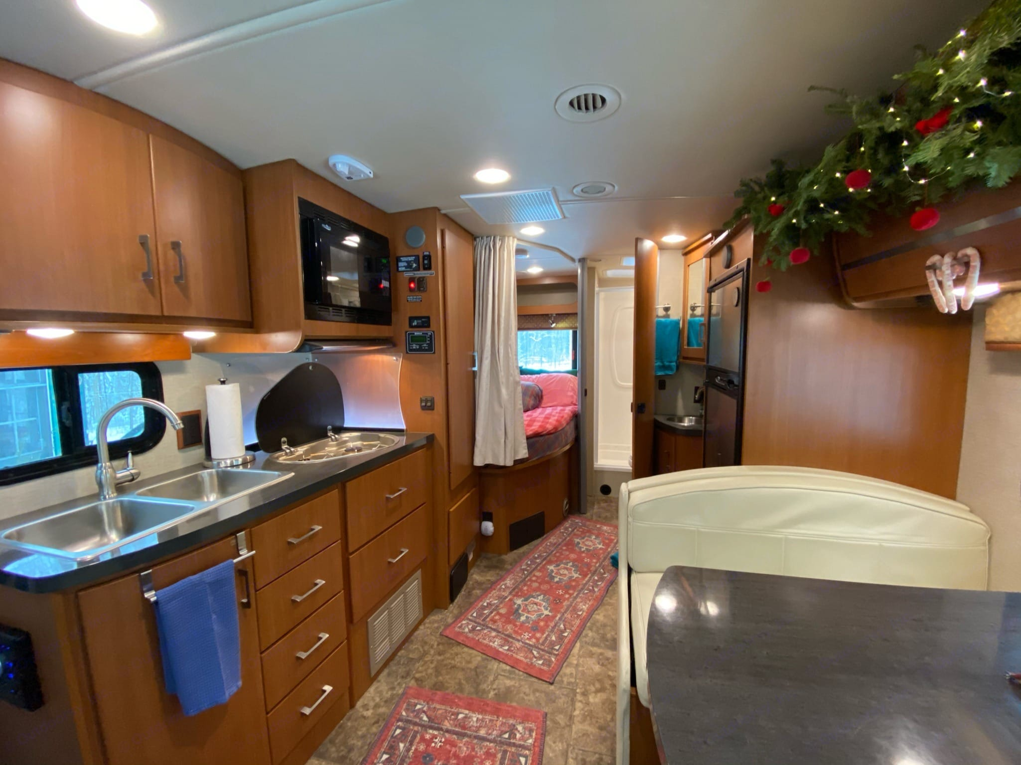 Can you tell where we spent Christmas?. Winnebago View 2014