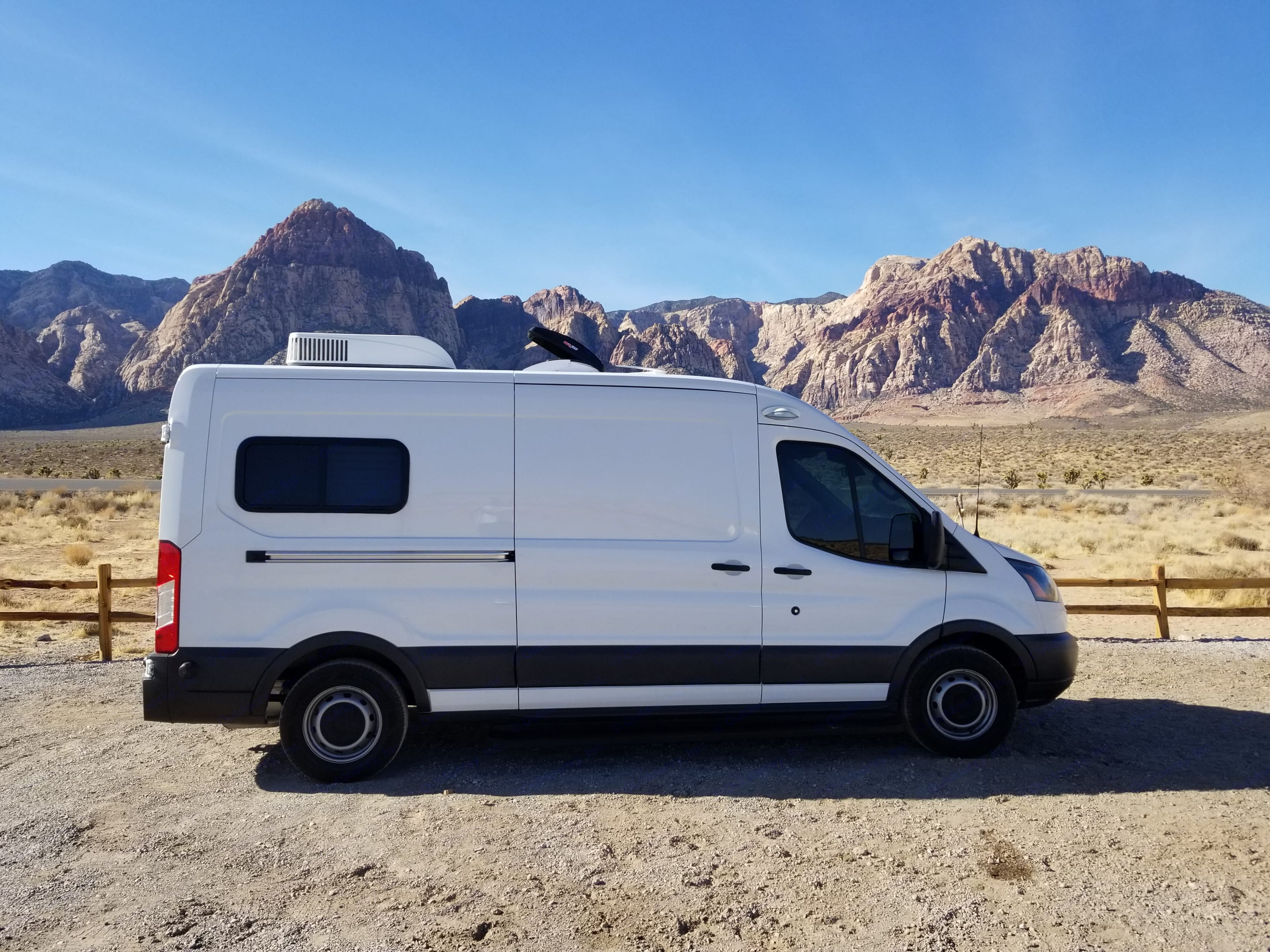 Keep bugs/ flies out whenever you wish to keep the doors open . Ford Transit 2018