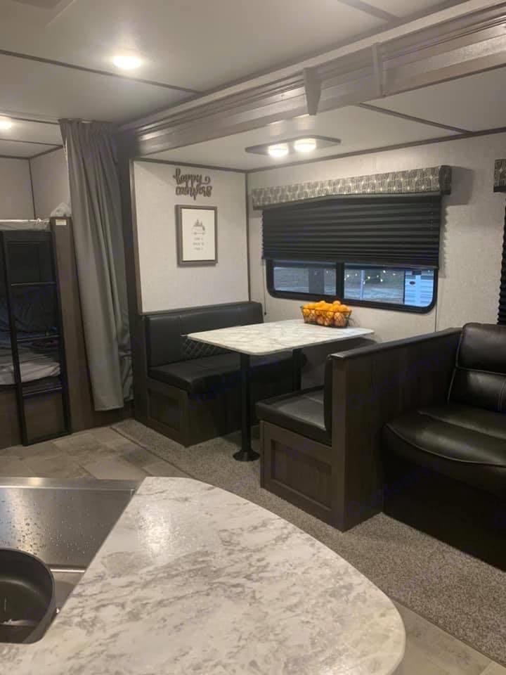 Spacious dining area that turns into a bed!. Coleman Other 2020