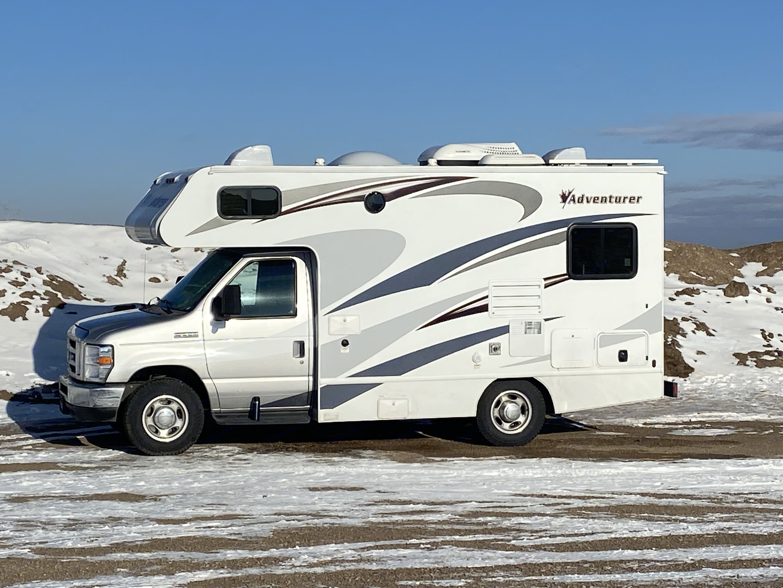 Go ahead, camp in the winter!. ALP Adventurer 19RD 2019