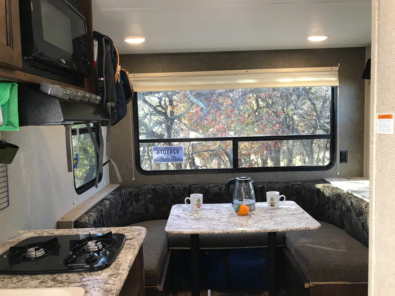 Enjoy Amazing Views with your Breakfast. . Keystone Hideout 2018