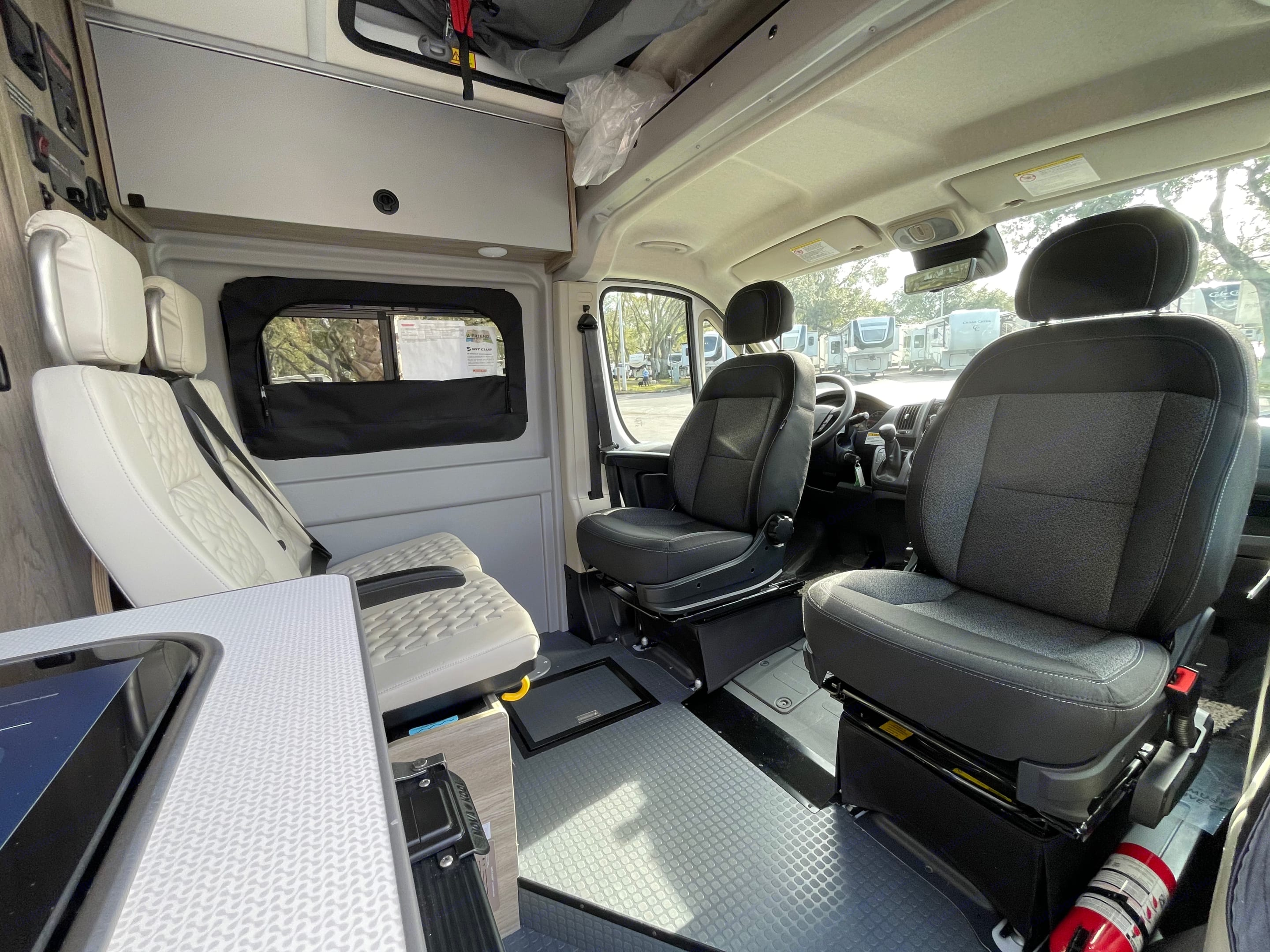Front seats turn to allow for more seating and creating a dinning room. Winnebago Other 2021