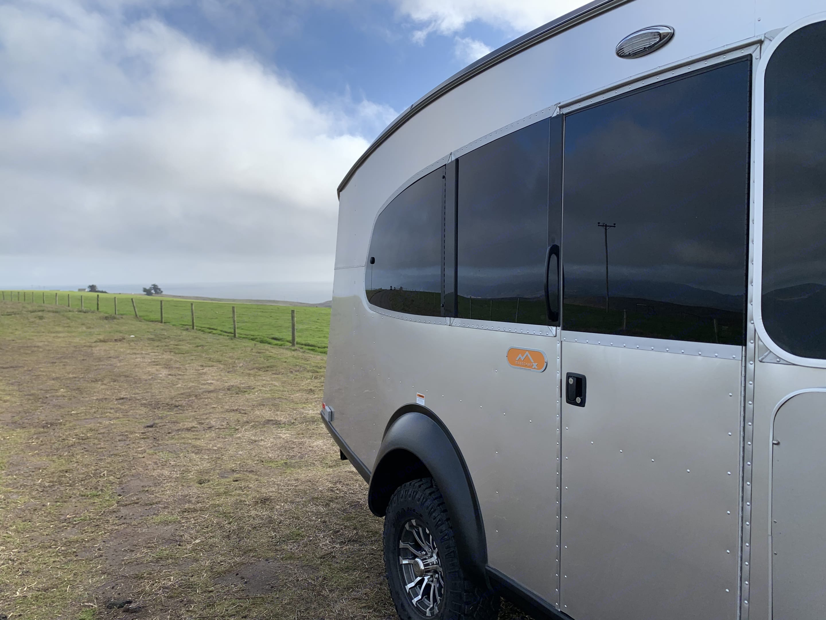 Nothing like it on the road.... Airstream Basecamp 20X 2021