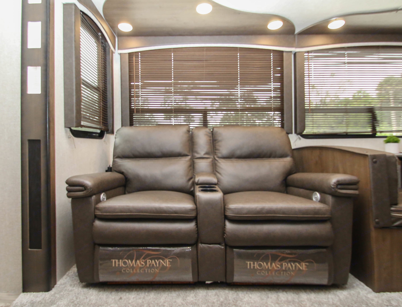 Enjoy Heat, Massage and Charging Stations. Keystone Cougar 2020