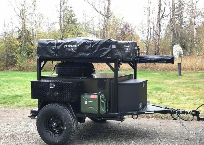 Valiant 452 Off-Road Camping Trailer 2021
