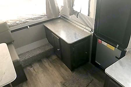 View of entry door/counter space. Rockwood 1940LTD 2021