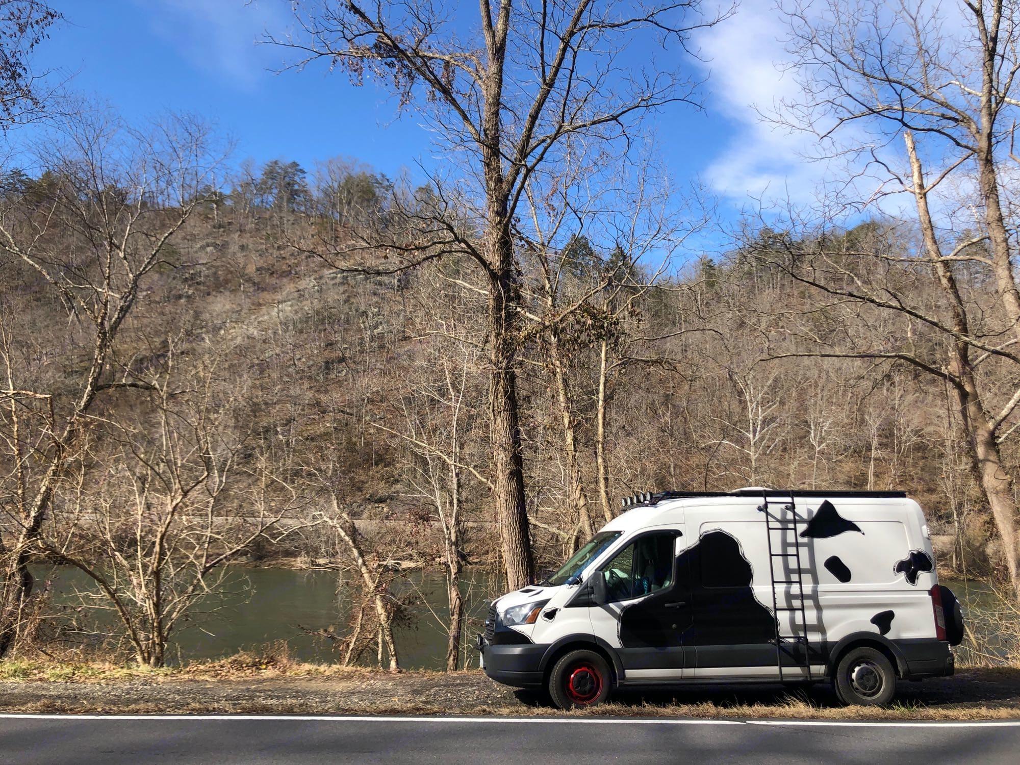 river adventure awaits. Ford Transit 2015