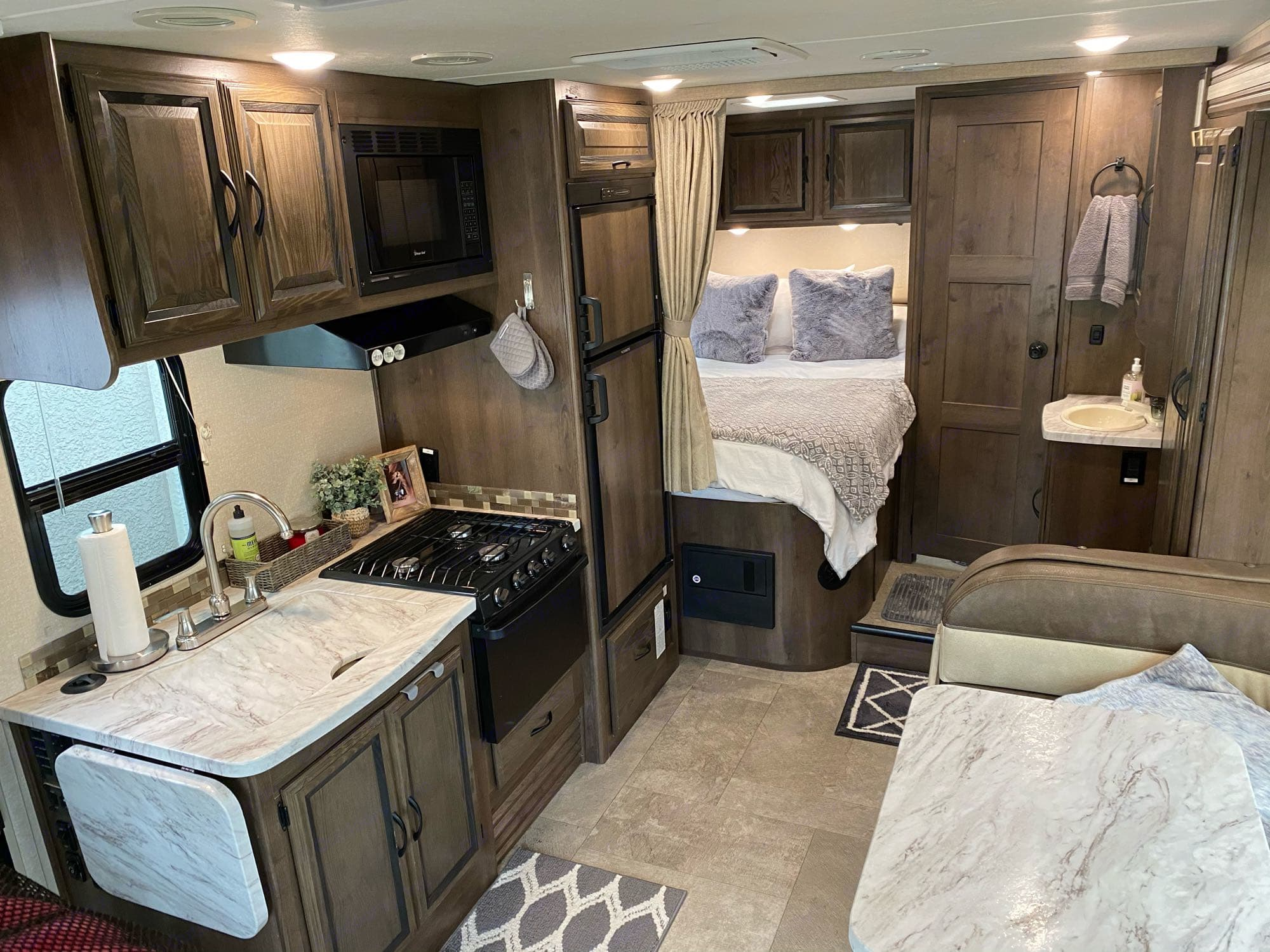 view from top bunk bed. Coachmen Prism 2019