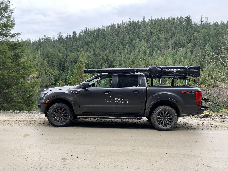 Ford Ranger Overland Truck. Ford Ranger 2019