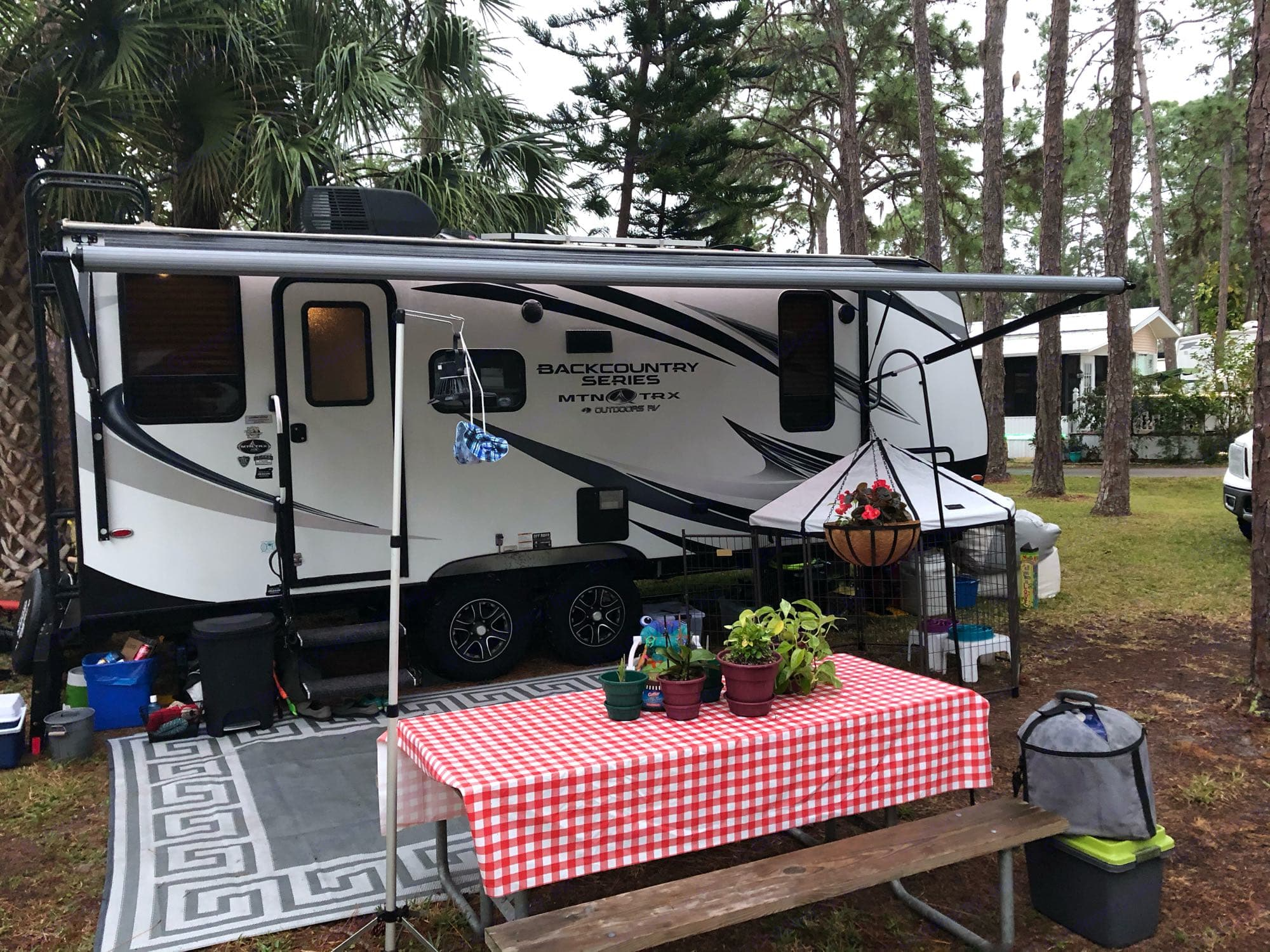 Outdoors Rv Manufacturing Back Country 2019
