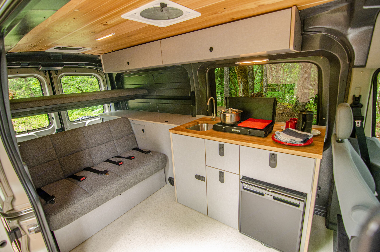 Beautiful roomy interior!. Ford Transit 2017