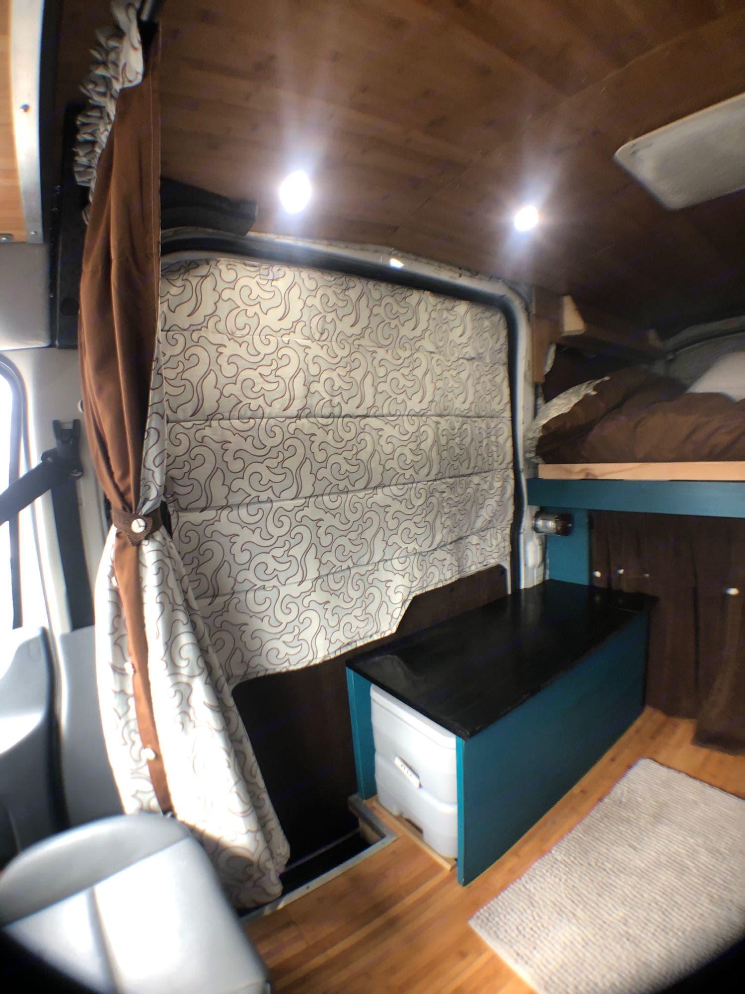 custom window coverings. Ford Transit 2015