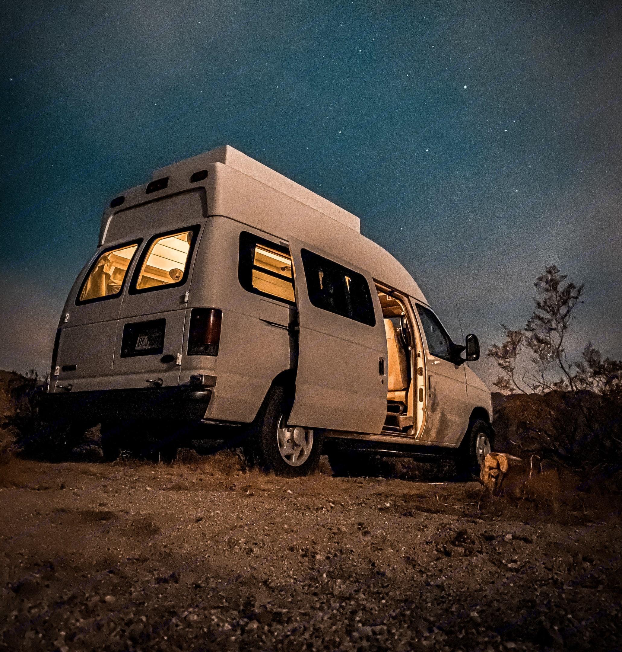Silvia's the perfect adventure companion!. Ford Econoline 150 2007