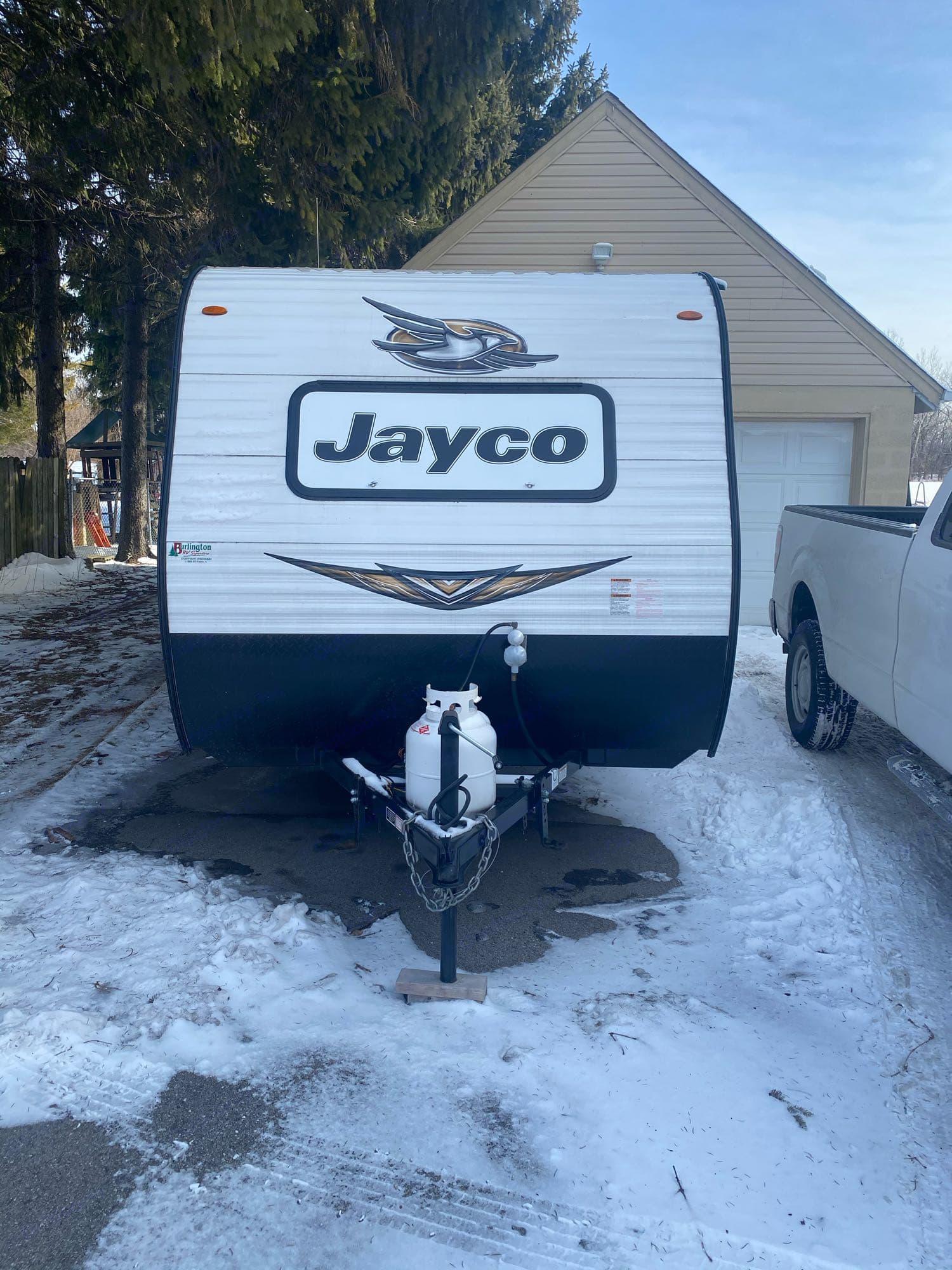 front of camper. Jayco Jay Flight 2019