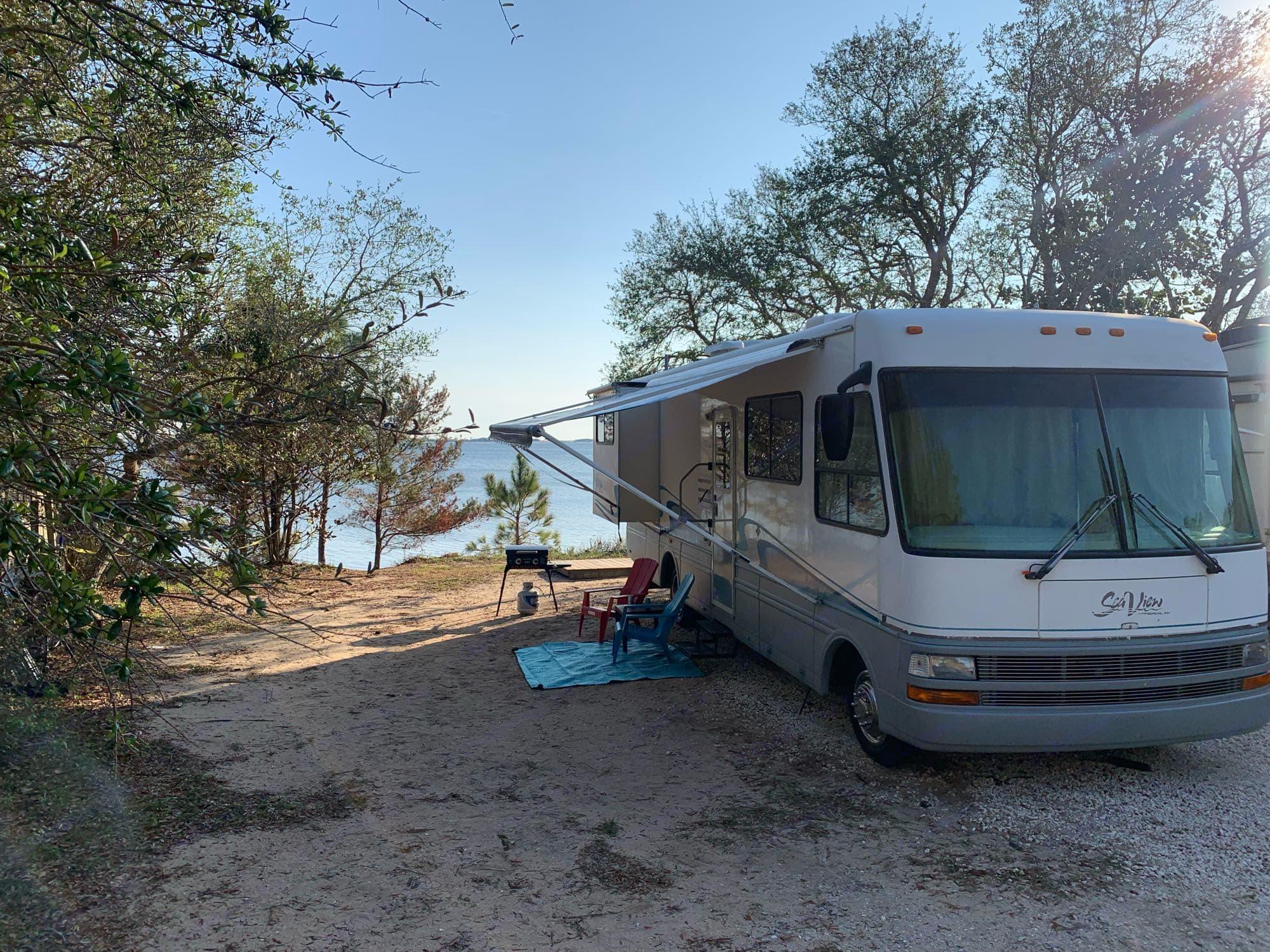 Rhonda at Florida beach. National Sea View 2000