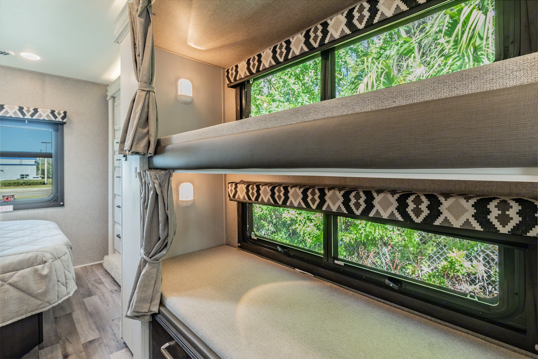 Large set of bunkbeds. Jayco Redhawk 2021