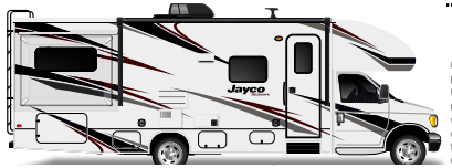 Plenty of storage compartments. Jayco Redhawk 2020