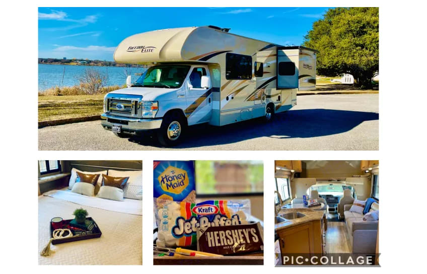 We can't wait to share our home away from home with you.. Thor Motor Coach Freedom Elite 2017
