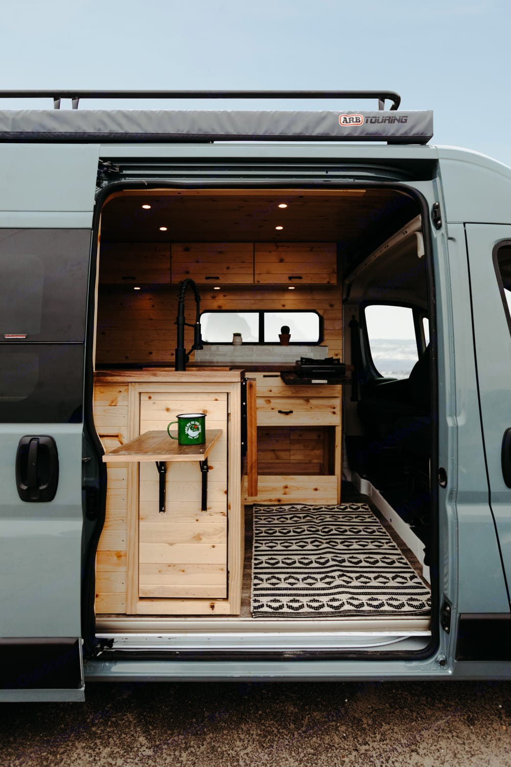 The beautifully converted Hydeout has everything you need for a comfortable and relaxing camping getaway.. Ram ProMaster 2019