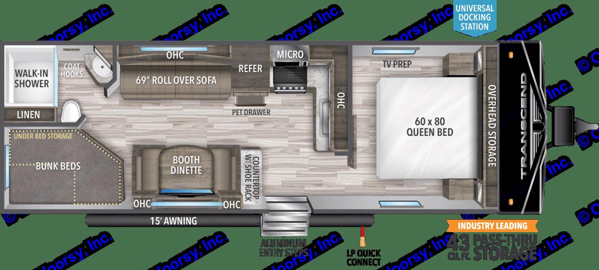 Grand Design Transcend XPlor 2021