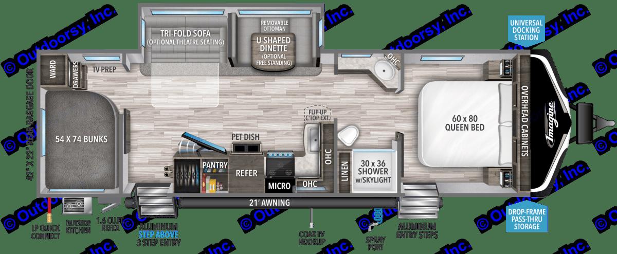 Grand Design Imagine 2910BH 2021