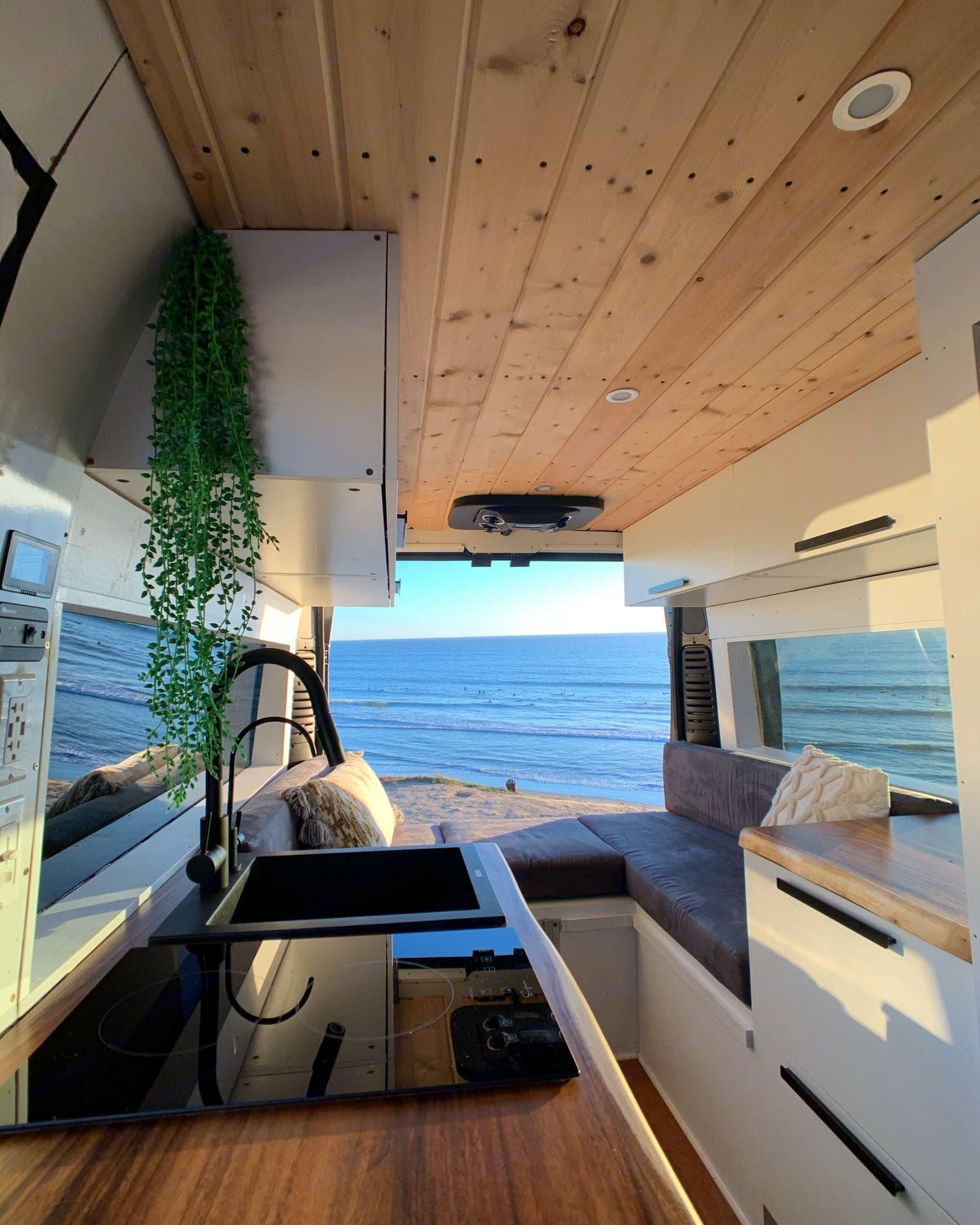 open the back doors and enjoy the ocean breeze. Dodge Ram 1500 2017