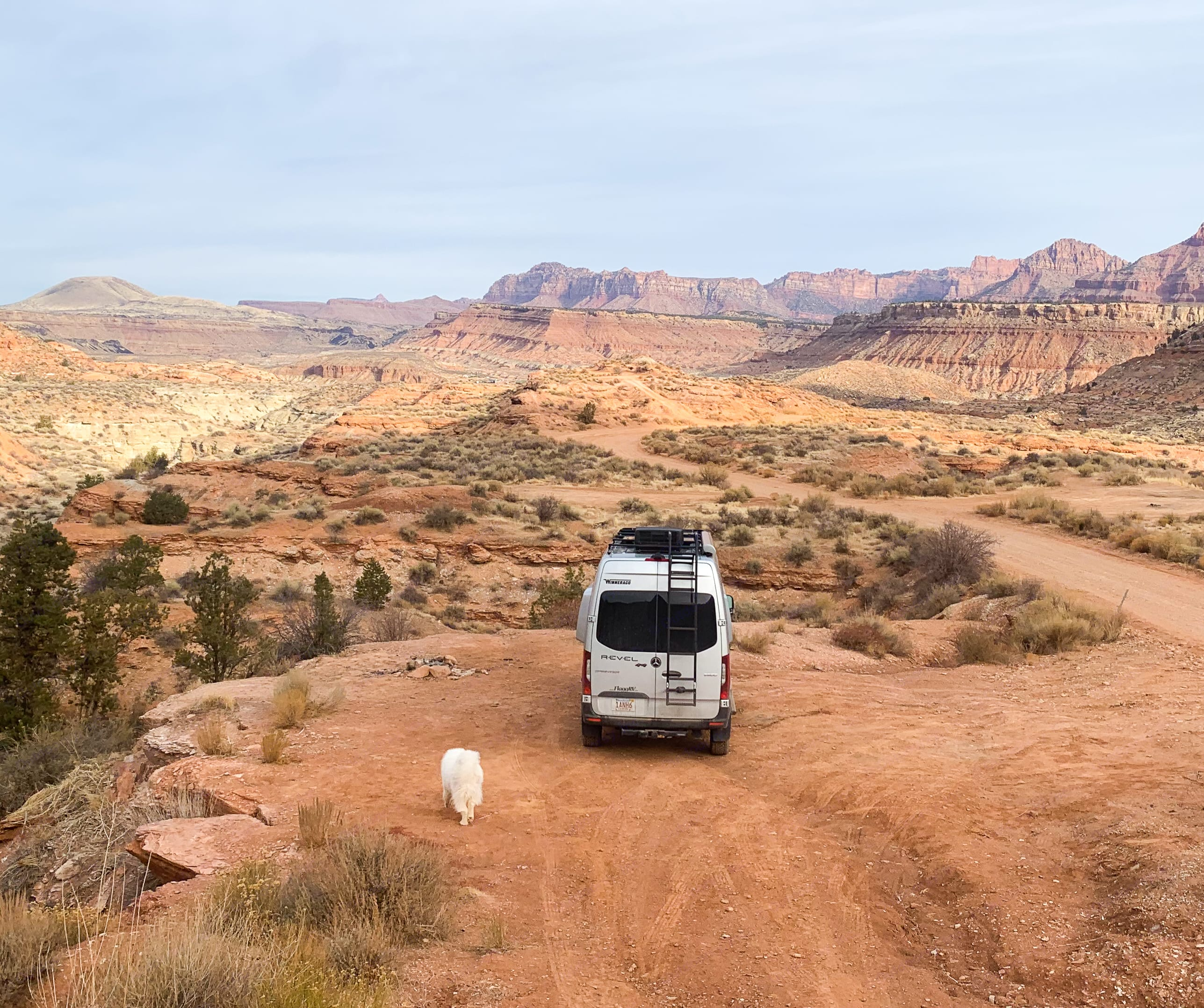 Sightseeing near Bryce Canyon, UT. Winnebago Revel 2021