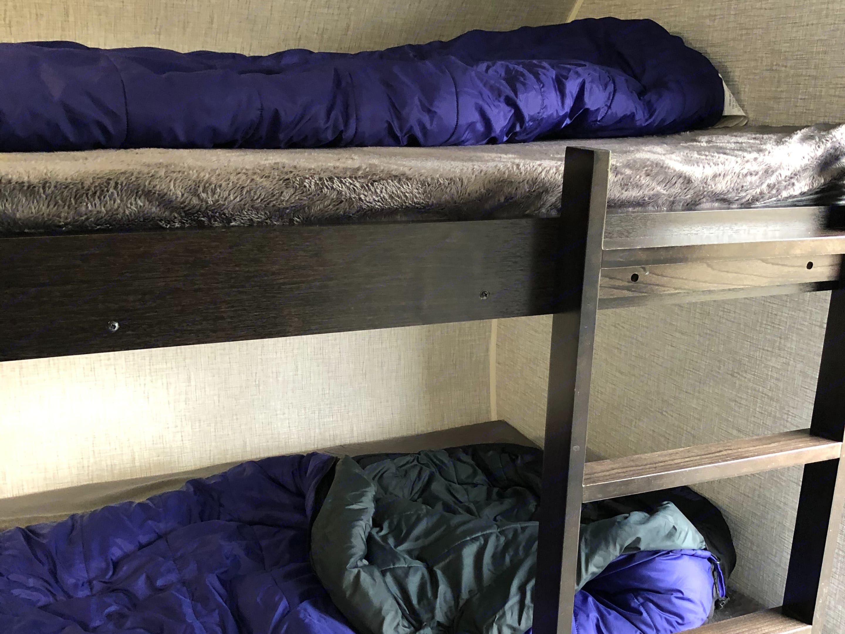 Fits adults.  Each bunk has its own light.  . Other Other 2021