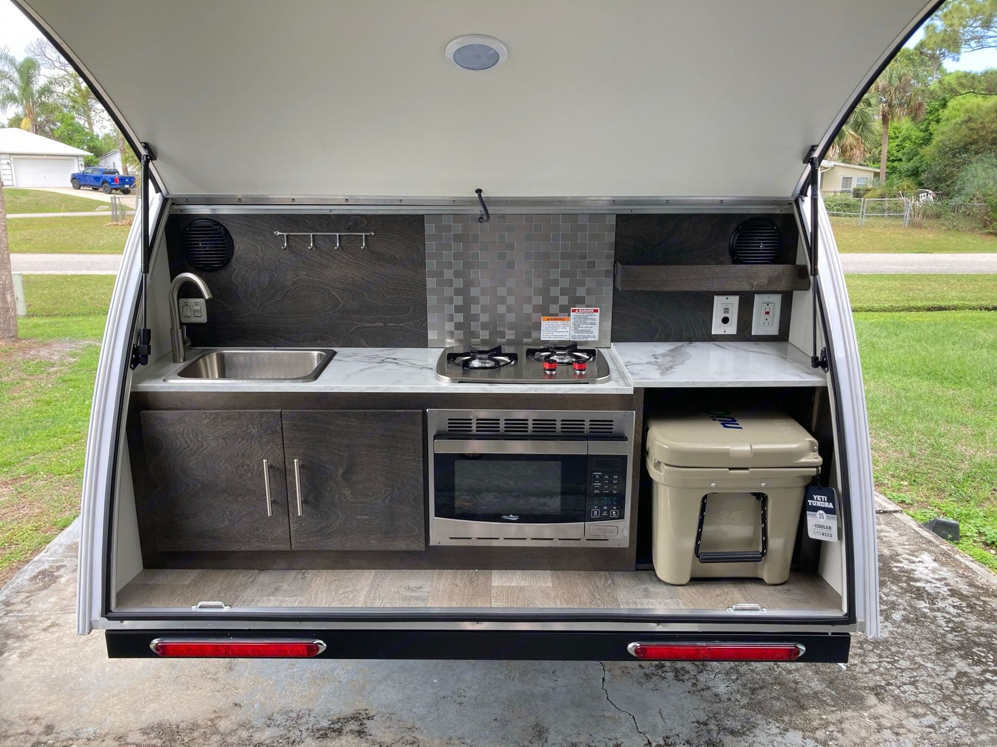 propane stove, microwave, yeti cooler. Other Other 2021
