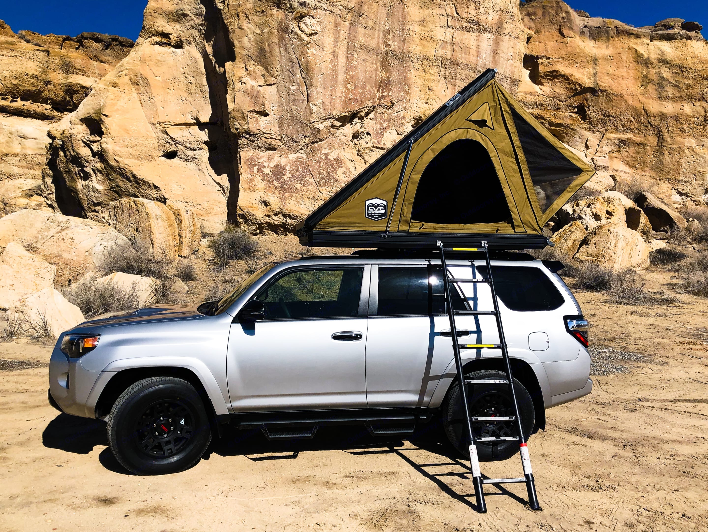 4Runner with Roof Top Tent - Sleeps 3. Custom Camper 2021