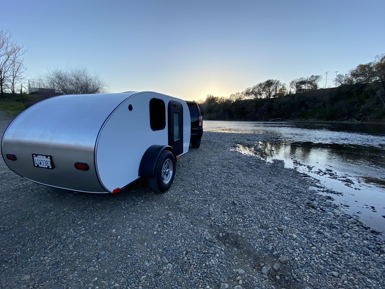 Ready to camp!. Custom Teardrop Camper 2021