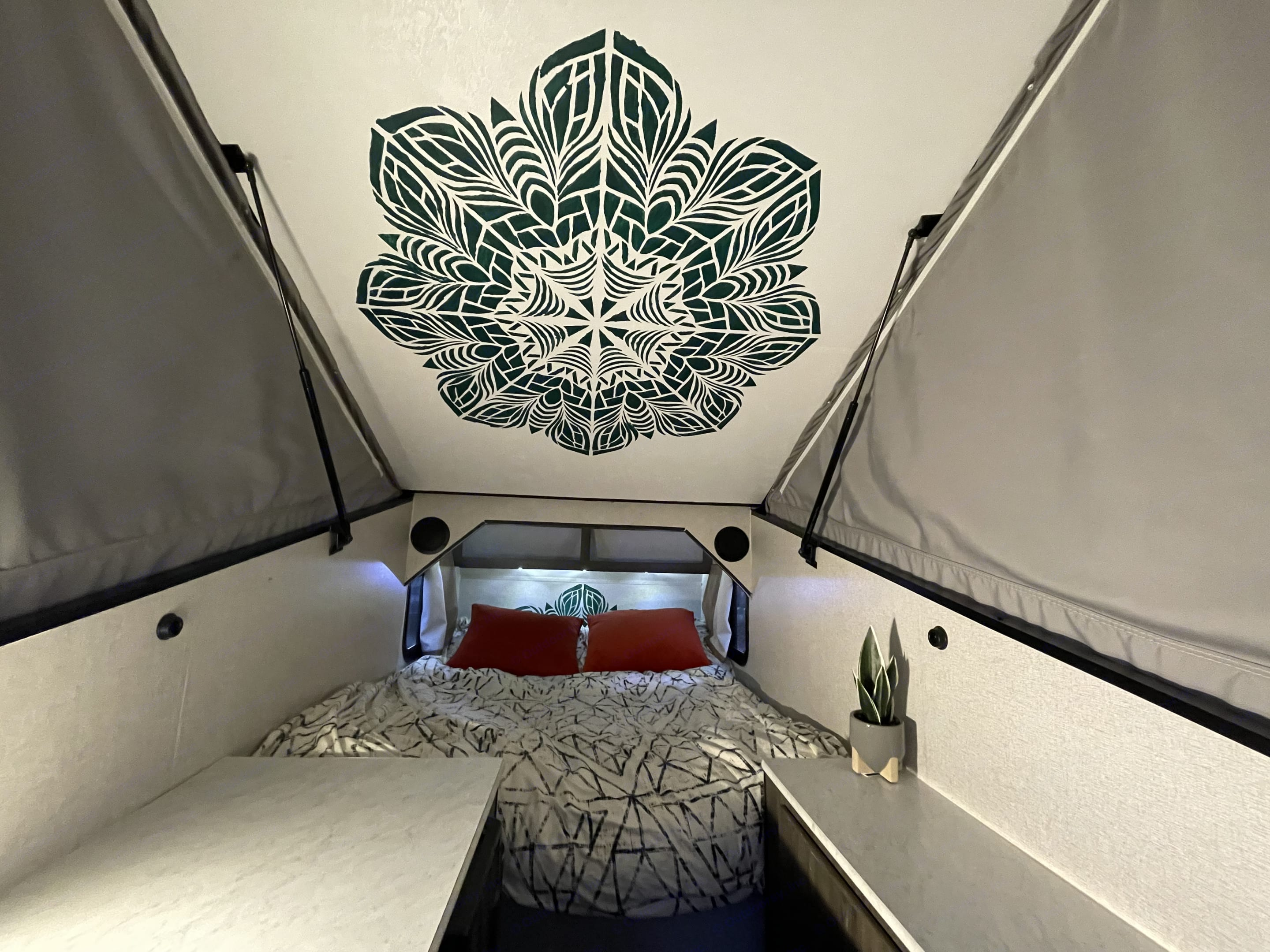 Astrid is a delightful popdrop (or is it tearpop?) trailer blending the style and easy transport of a teardrop, and the flexibility and spaciousness of a pop-up camper that is wonderful for two people to camp in style.. Coachmen Viking 2019