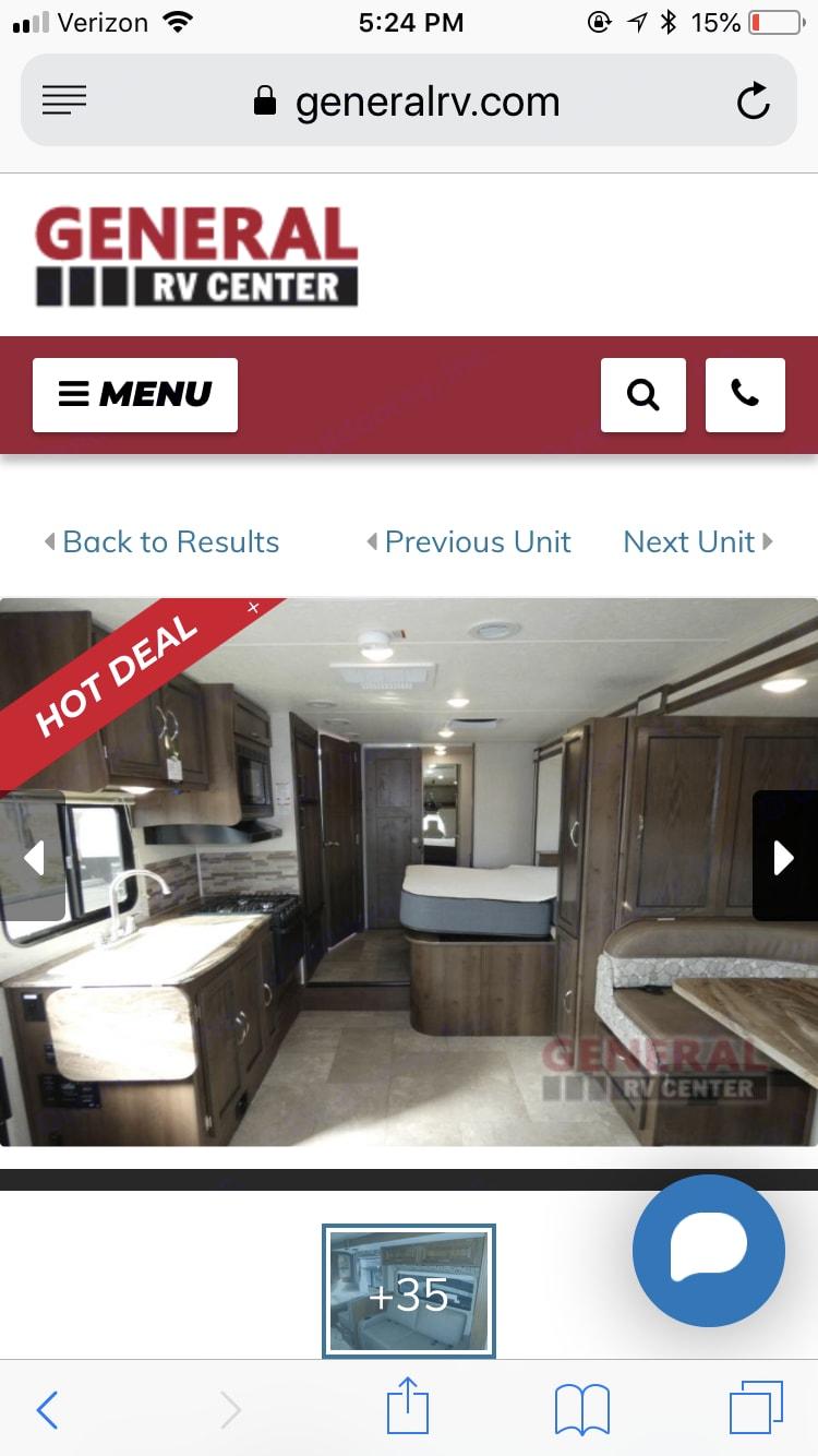 Interior view of kitchen. . Coachmen Freelander 2020