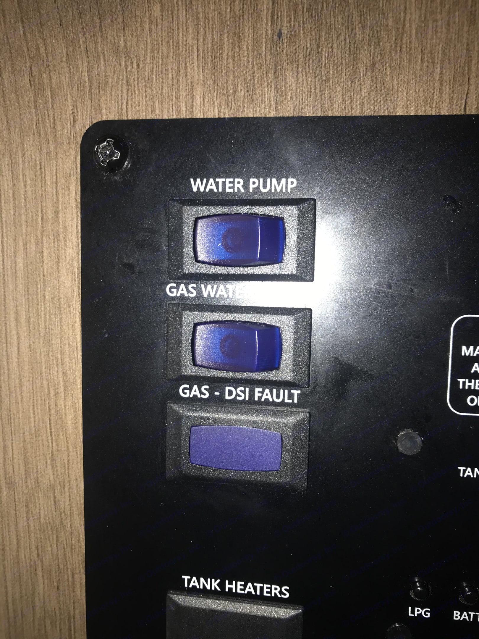 Water pump and heater. . Coachmen Freelander 2020