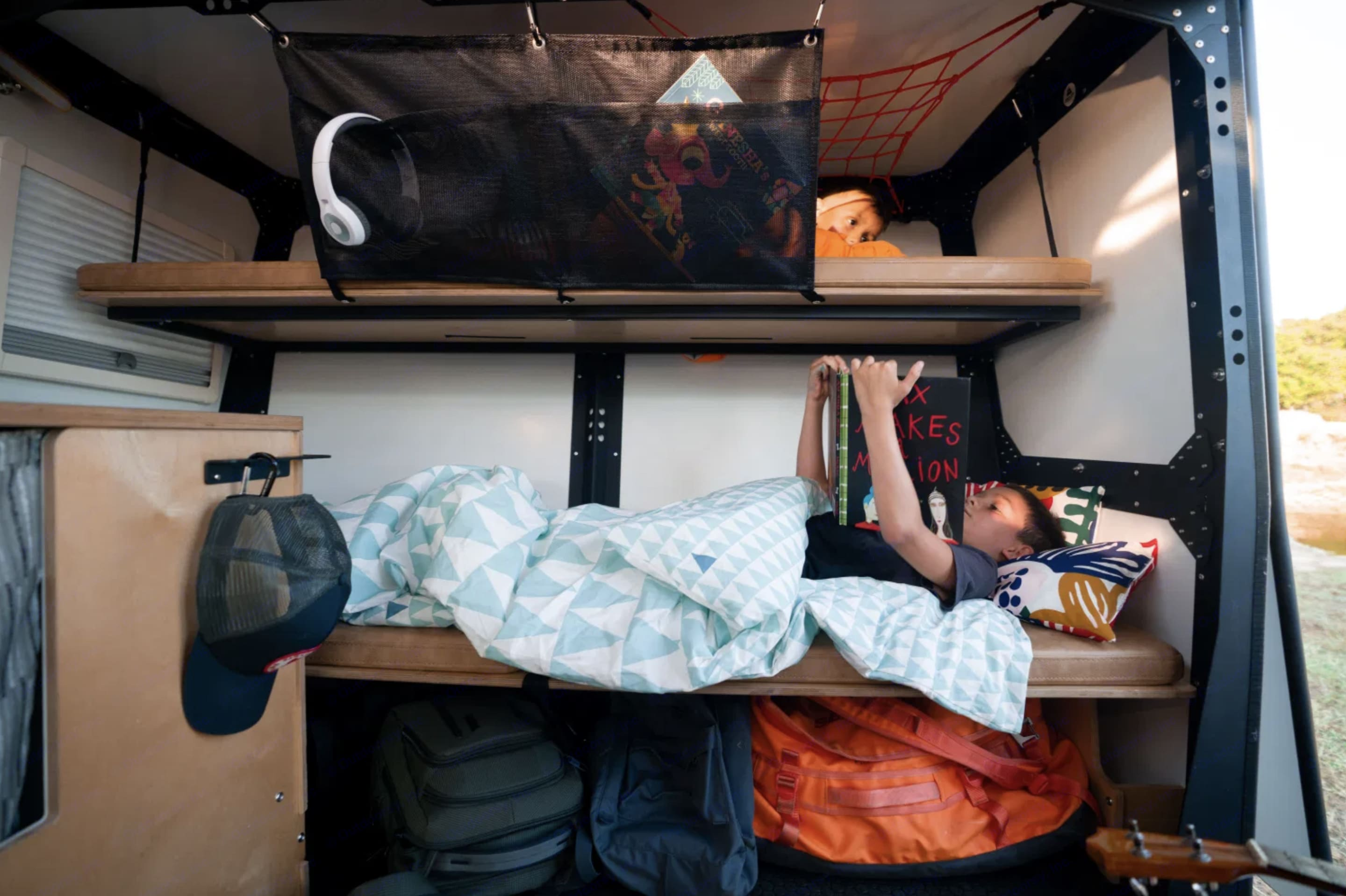 The 2 bunks are great for Adults and kids. TAXA Outdoors Mantis Camper 2021