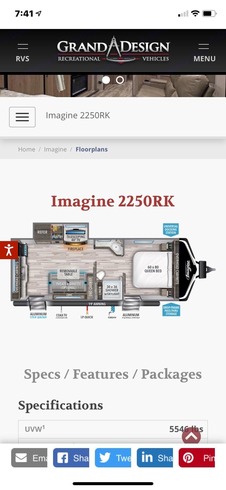 Grand Design Imagine 2021