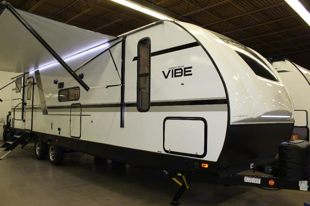 Trailer Exterior. Forest River Vibe 2021
