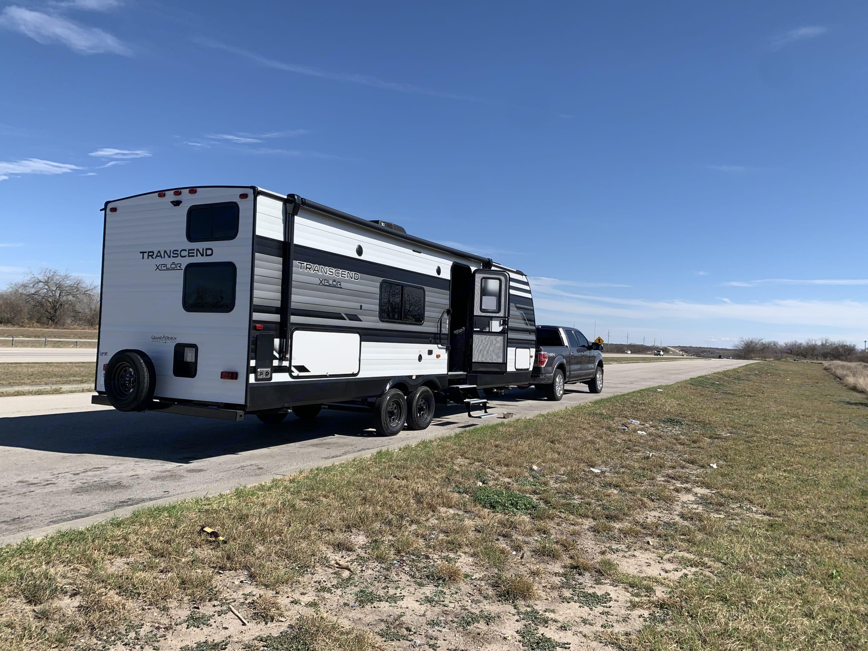 On the road to their destination!. Grand Design Transcend Xplor 2021