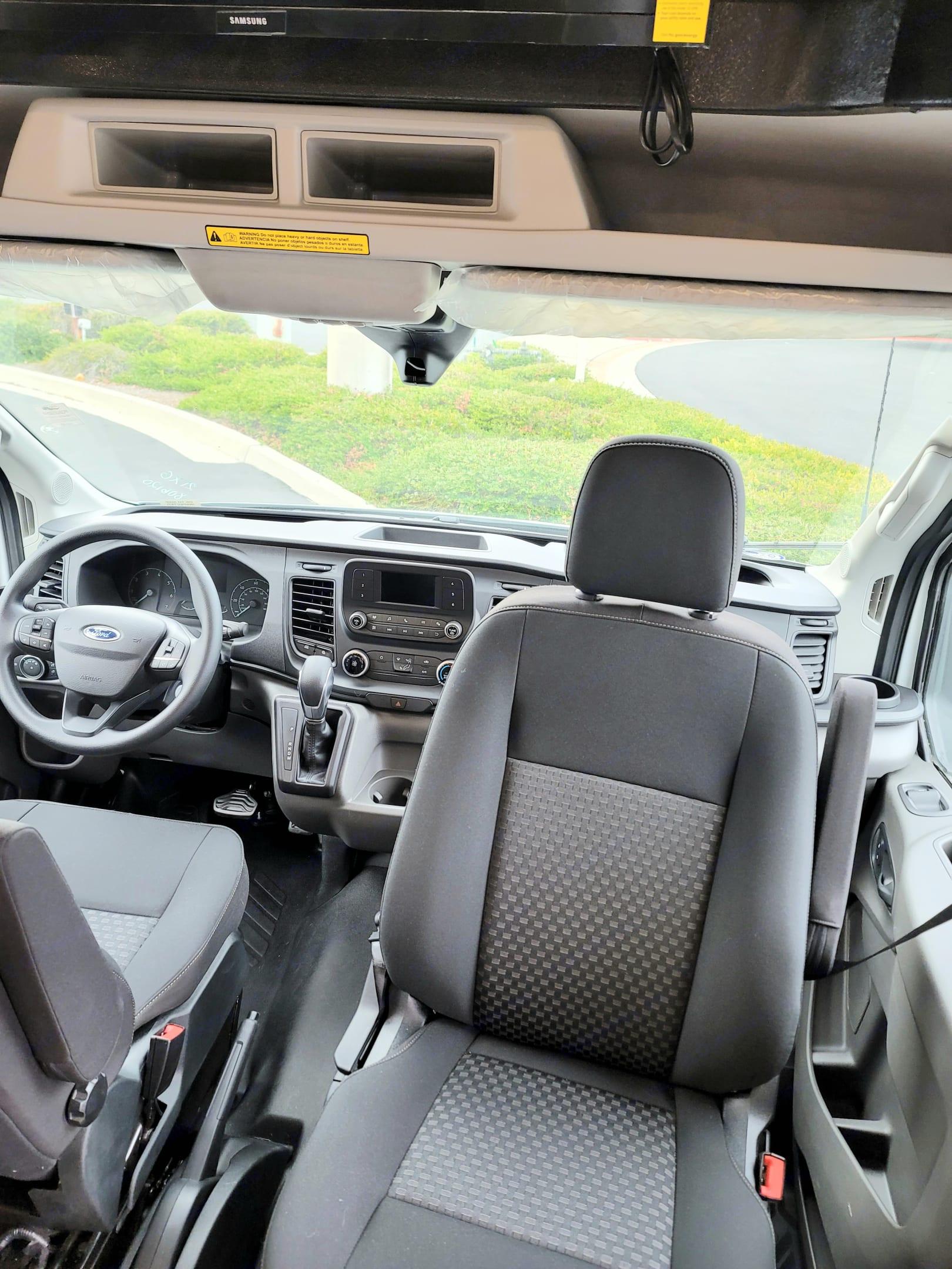 Passenger Side Swivel Seat. Custom CrossTrek 21XG 2021