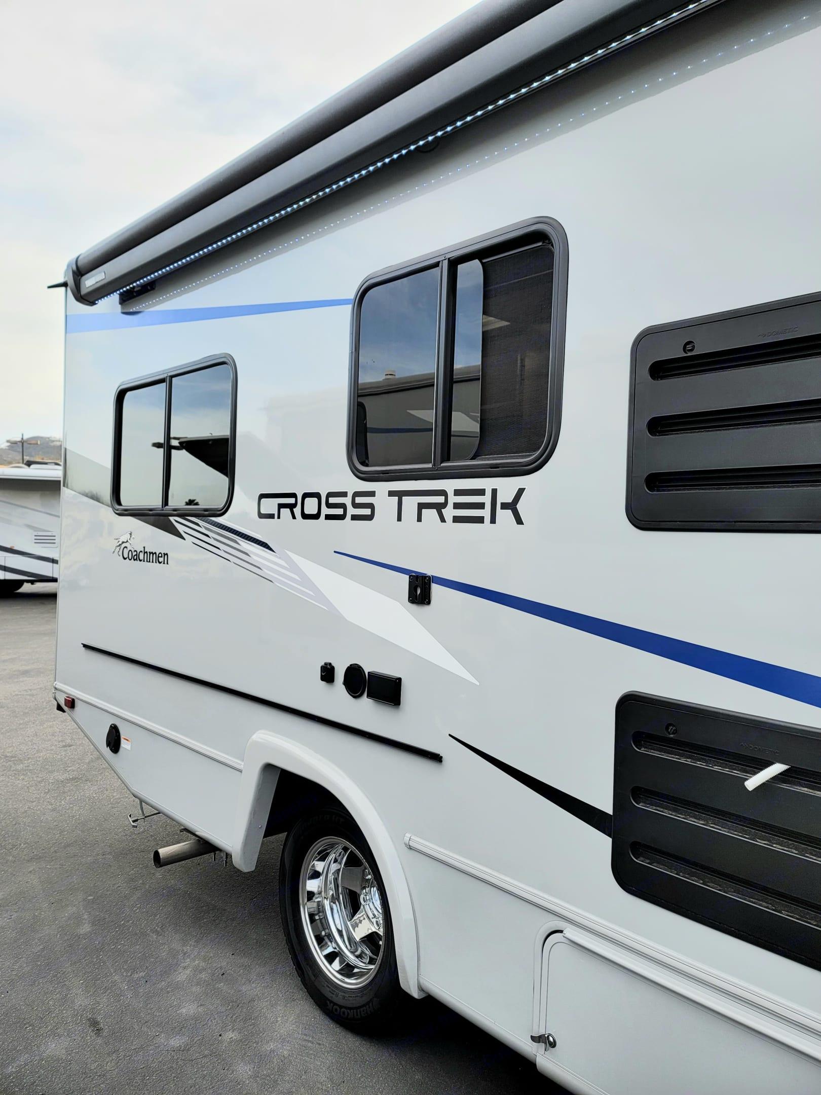 Side. Custom CrossTrek 21XG 2021