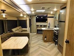 Living Room. Forest River Heritage Glen 2021